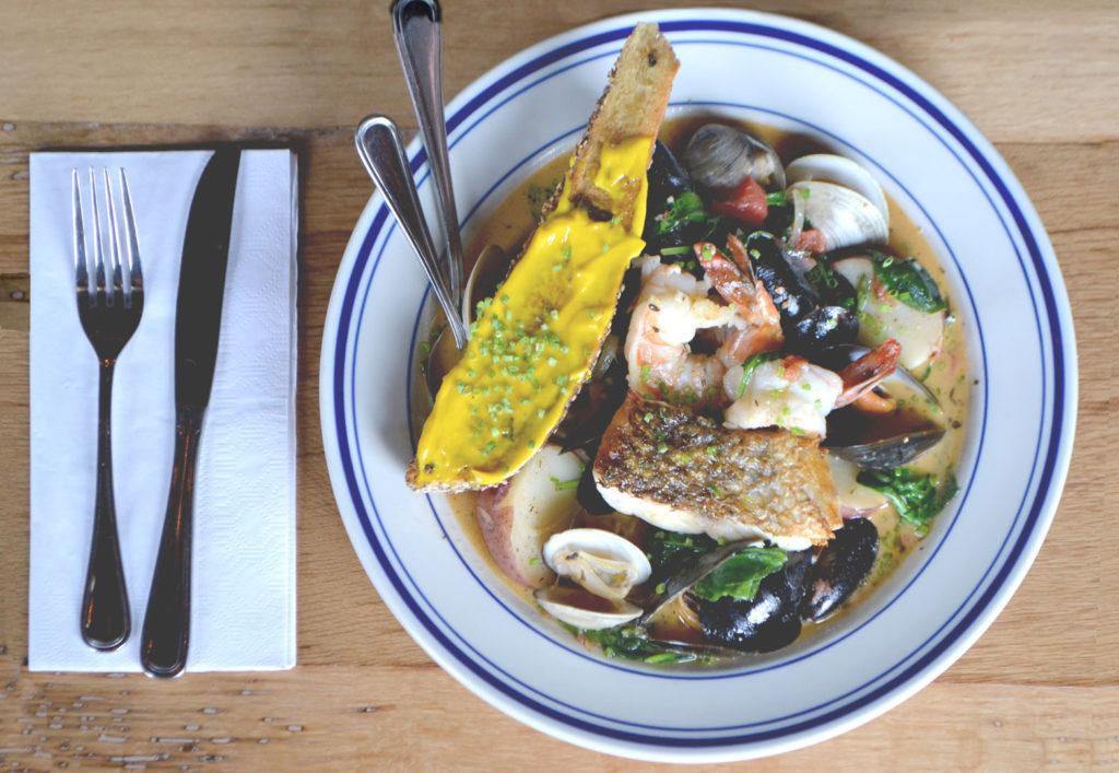 Split Rail Tavern Seafood Stew